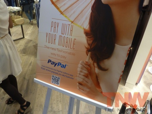 P1010752wtmk 520x390 Hands on with PayPals UK inStore mobile payment service