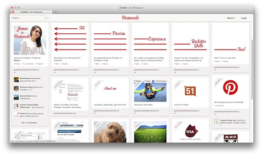 get hired on pinterest creative resume resume and