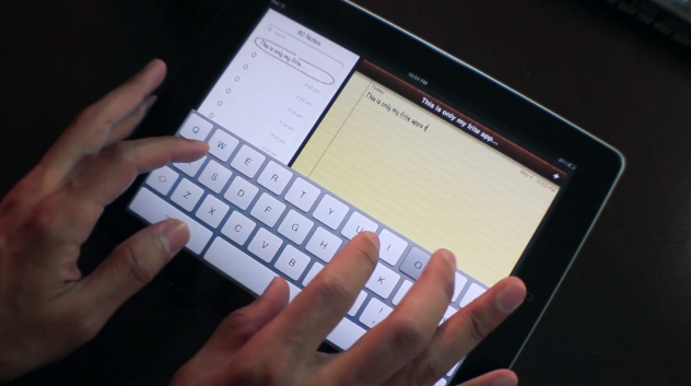 Impressive iPad keyboard gesture video spawns new Jailbreak tweak: SwipeSelection