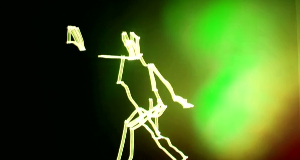 These 3D light painting animations are absolutely gorgeous
