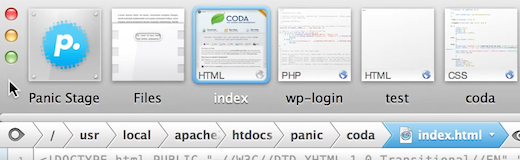 Screen Shot 2012 05 23 at 10.47.24 PM Panic launches two new Web development apps: Coda 2 for Mac and Diet Coda for iPad