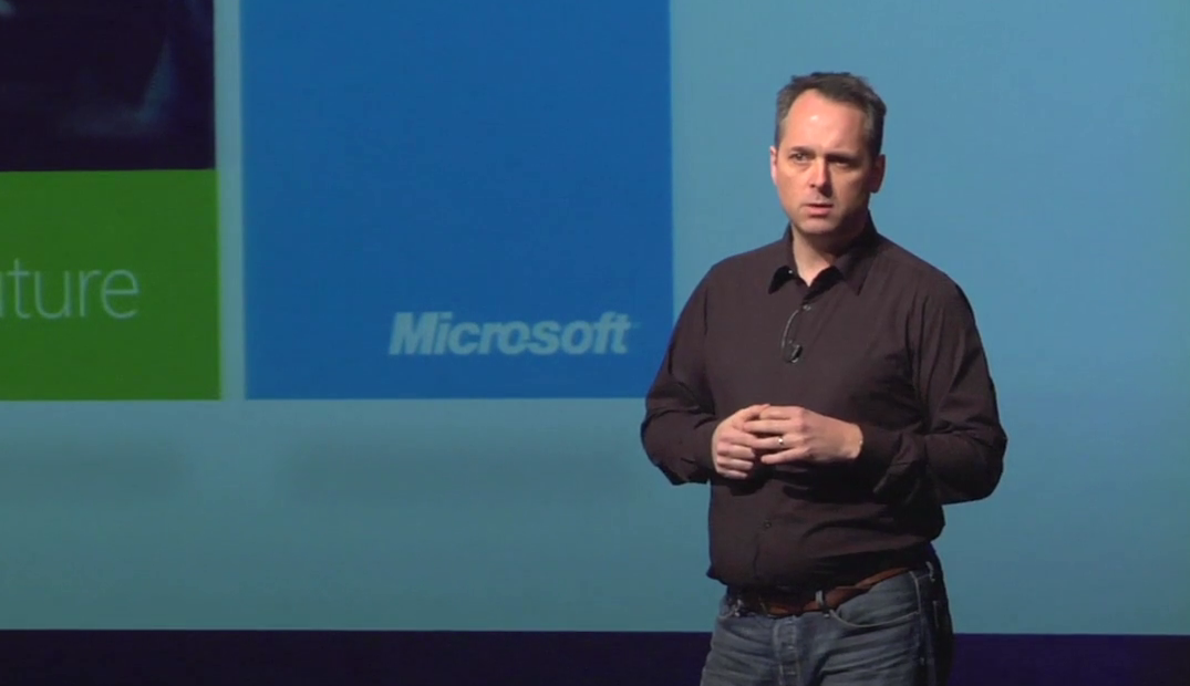 "Steve Clayton on Microsoft's push for ""natural user interfaces"""