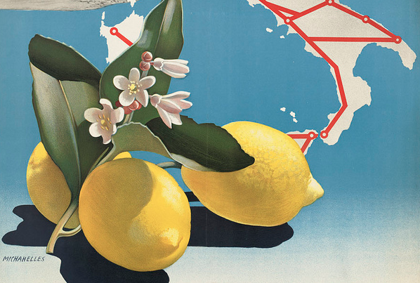 Design Inspiration: 350 Vintage travel posters from the 1920s-1940s