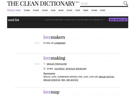 The Clean Dictionary 520x374 The Dictionary just got a redesign and its freakin gorgeous