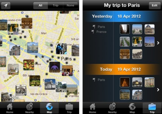 a5 520x366 Tripomatic launches iOS app to let holidaymakers plot and plan their daily travel itinerary