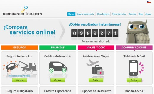 comparaonline 520x320 VC firm Kaszek Ventures backs ComparaOnline, its first investment in a Chilean Web startup