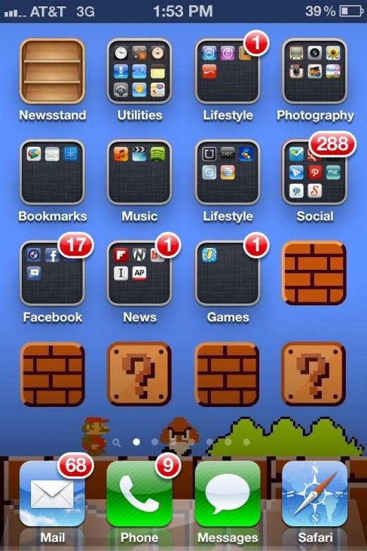 My folder app help