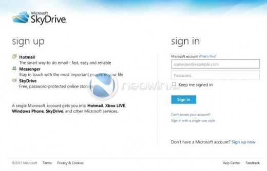 image2 520x334 Purported screenshots show off Microsoft Account user interface, Live rebranding