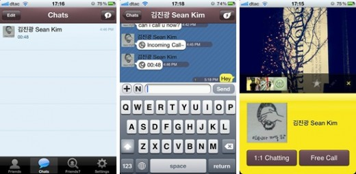 kakao talk 520x255 Mobile messaging apps: The threat to Facebook and other social networks