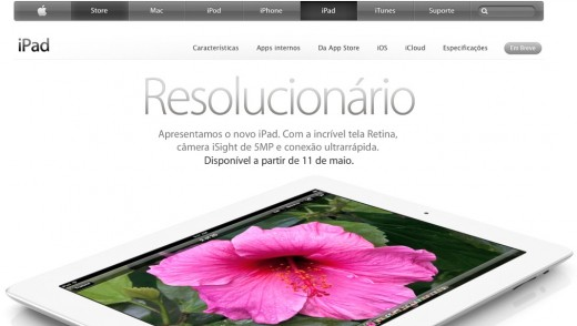new ipad 520x294 Confirmed: Apple to launch new iPad in Brazil on May 11