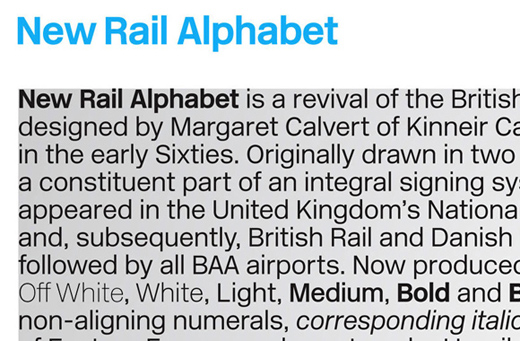 new railal phabet 30 of The Best Alternatives to Helvetica