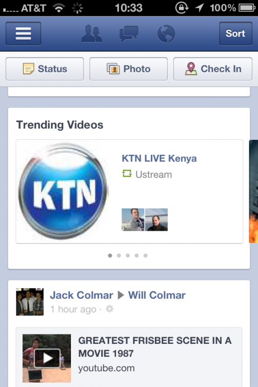 photo3 520x780 Good news for social video apps: Facebook introduces trending videos to your news feed
