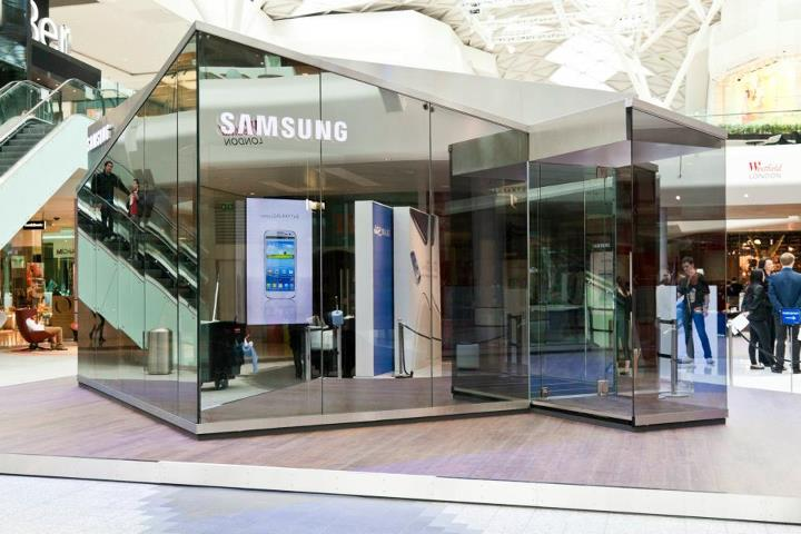 samsung plans 39 pop up 39 stores in london ahead of upcoming olympics. Black Bedroom Furniture Sets. Home Design Ideas