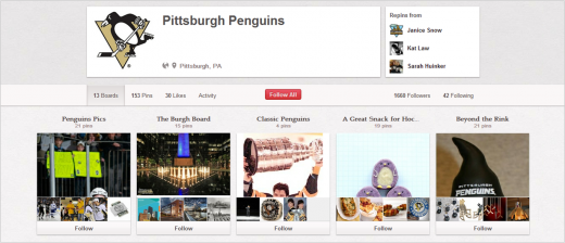 pittsburgh 520x224 Seven must follow sports teams on social media