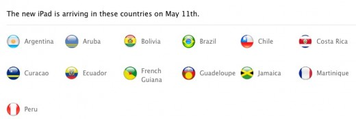 screenshot 2012 05 08 à 16.37.24 520x174 Its not just Brazil: Apples new iPad launching in 30 territories this weekend