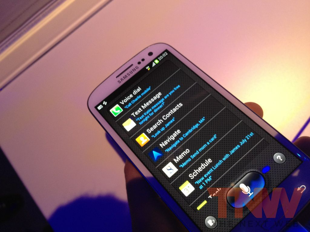 Samsung begins blocking unofficial S-Voice requests ahead of Galaxy S III launch