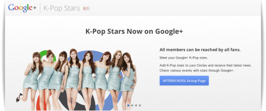 sistaer kpop page2 520x218 Koreas K Pop music industry joins Facebook and Google+ to extend global reach