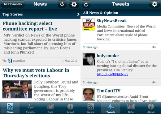 tmapppages Tweetminster launches app for UK political junkies on the go