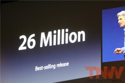 Apple announces 26M copies of OS X Lion have shipped and has 40% of overall install base