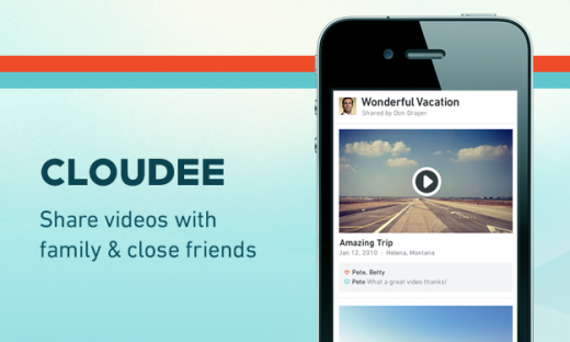 1 Cloudee 520x312 Boxee launches Cloudee to let users share their personal videos with friends and family