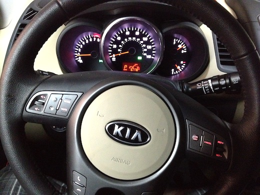 I got to drive a Kia Soul for a week, and it was geek-car heaven