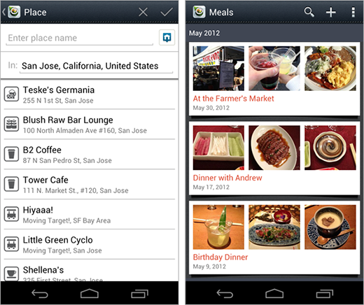 31 Evernote launches Evernote Food on Android, continuing its cross platform push