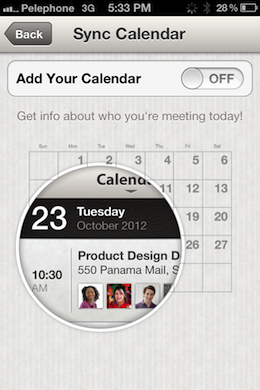 LinkedInOptOut LinkedIns iOS app collects and transmits names, emails and notes from your calendar, in plain text