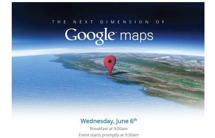 Google holding 3d maps event in advance of apples wwdc the invite stopboris Images