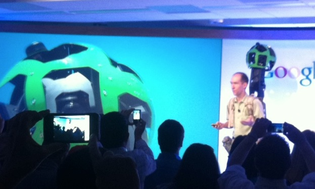 Google announces Trekker, a project using backpack units to record off-road 'Street View' ...
