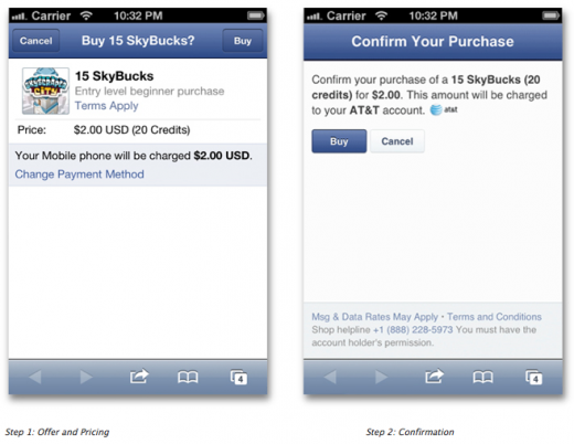 Screen Shot 2012 06 06 at 2.23.17 PM 520x402 Facebook rolls out new low friction mobile payments for developers in 60+ countries