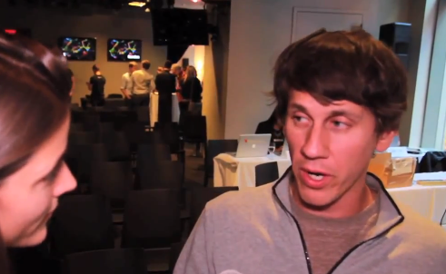 "Dennis Crowley of Foursquare: ""I've never worked on a product as well received as 5.0"" ..."