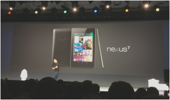 Google Announces Nexus 7 tablet, 7″, quad-core, made by Asus, Android 4.1