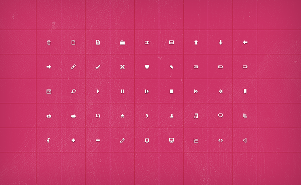 Check out these free icons, fonts and UX elements, from the creators of COLOURlovers