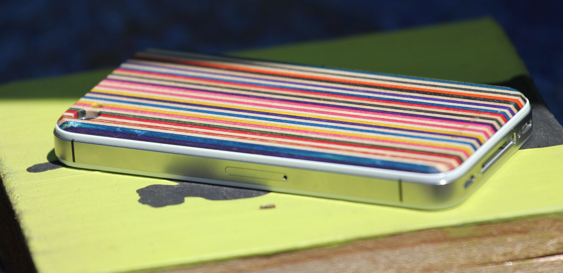 The SkateBack: Sheathing your iPhone in recycled skateboards is cool, but is it practical?