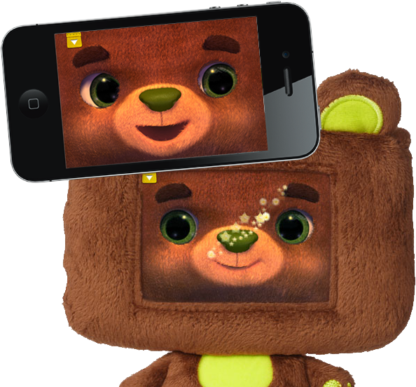 "Meet Beary, the interactive ""appcessory"" from Tipitap that makes you feel like a kid again ..."