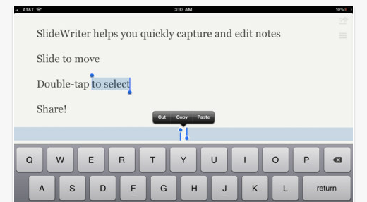 ipad slidewriters The best iPad apps of 2012 so far