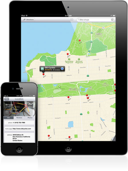 Apple to provide Yelp check in functionality within iOS 6 Maps