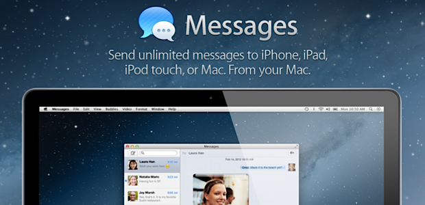 Apple axes Messages Beta ahead of OS X Mountain Lion launch in July