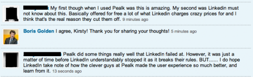 pealk2 520x159 How LinkedIn betrayed 5 man startup Pealk, and why developers should be concerned [Update: LinkedIn responds]