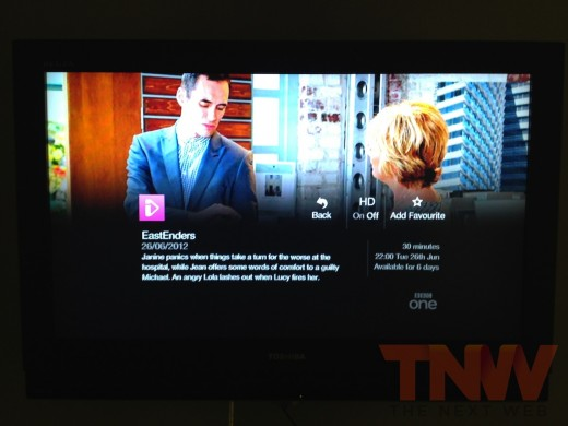 photo 31wtmk2 520x390 A first look at the UKs long awaited YouView smart TV service