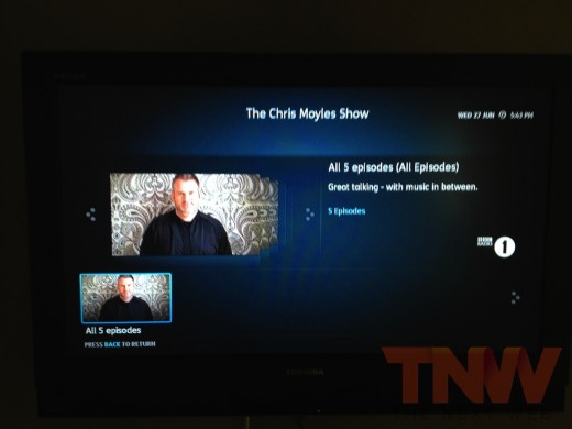 photo 34wtmk2 520x390 A first look at the UKs long awaited YouView smart TV service