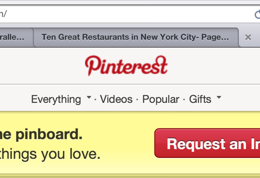 pinterest2 The Web is going to look hideous on the new retina MacBook Pro