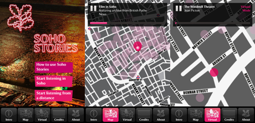 soho520 Soho Stories app from the National Trust explores one of Londons most seedy, swinging districts