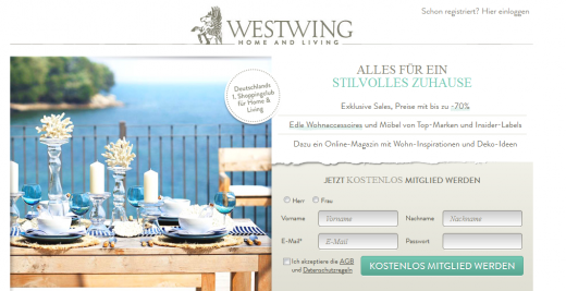 westwing closes 50m funding round. Black Bedroom Furniture Sets. Home Design Ideas