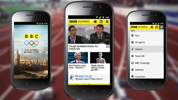 The BBC launches Olympic iOS and Android apps, offers 24 simultaneous live streams, full schedules and ...
