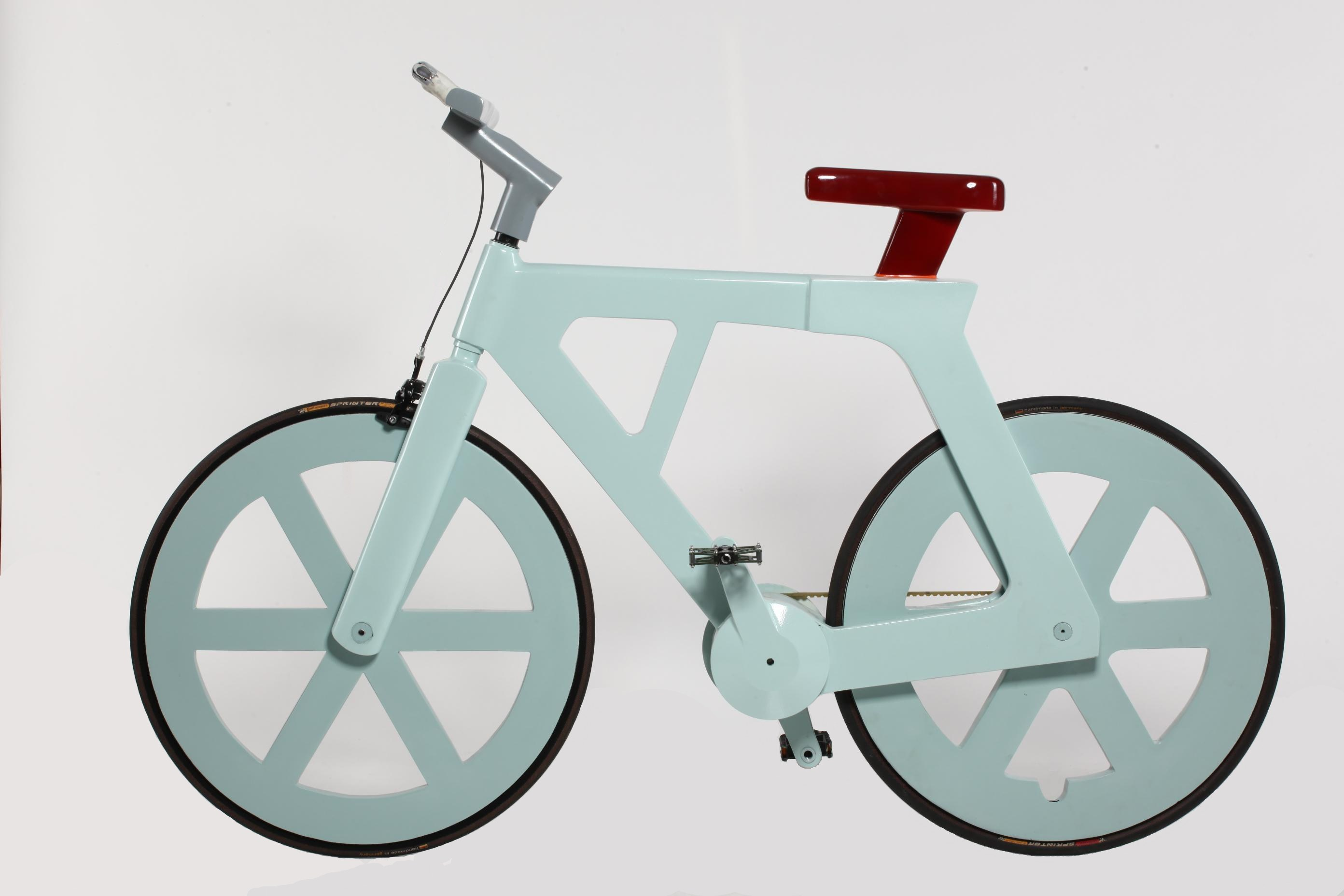This could be your next bike – and it's made out of cardboard