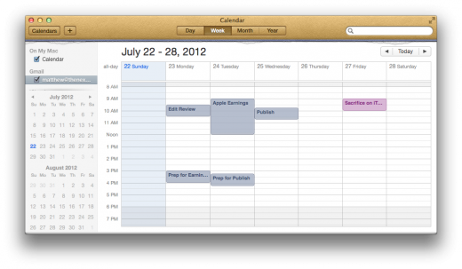 Calendar Main View 520x303 TNW Review: OS X 10.8 Mountain Lion
