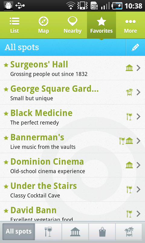 Edinburgh4 Spotted by Locals hits Android, offering 41 European city guide apps with offline access