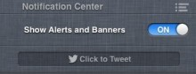 Notification Center with Mute Showing 220x84 TNWs Complete Guide to Notifications in OS X 10.8 Mountain Lion