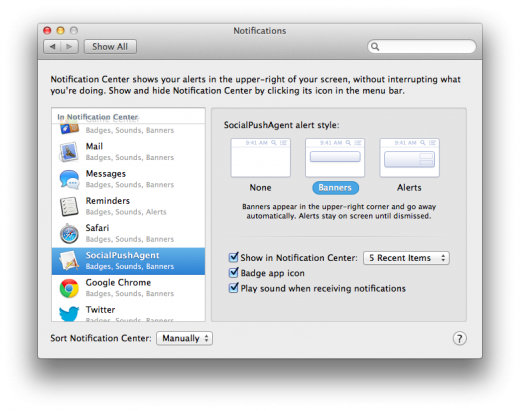 Notification Socialpushagent 520x411 TNW Review: OS X 10.8 Mountain Lion
